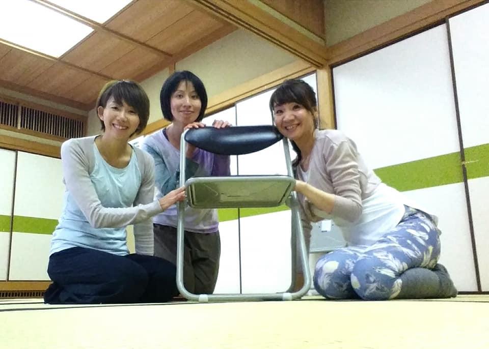 姫路で椅子ヨガ指導者講習