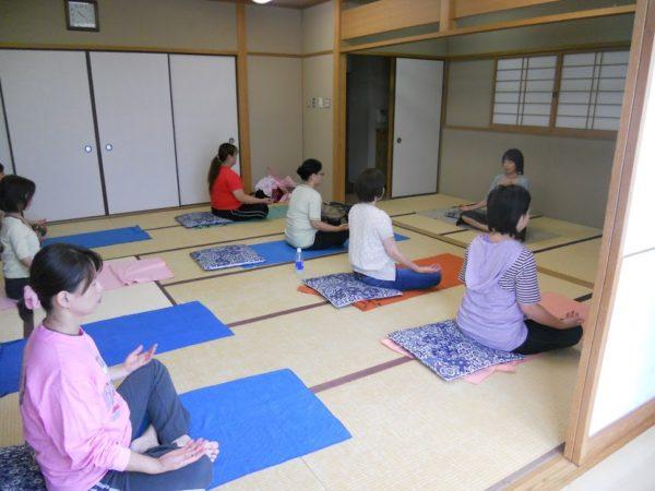 出張マインドフルネス瞑想講習