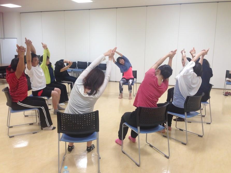 椅子ヨガ指導者講習 癒しの種